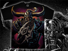 The barbarian T-Shirt Design by