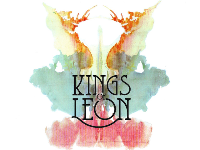 Kings of Leon in Rorschach Inkblot