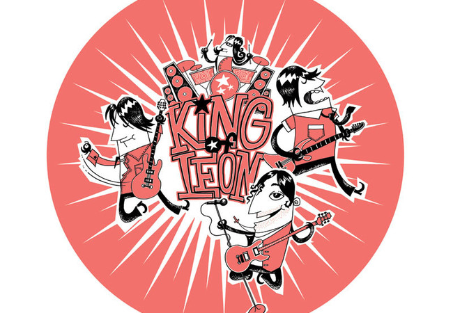 Design for Kings of Leon
