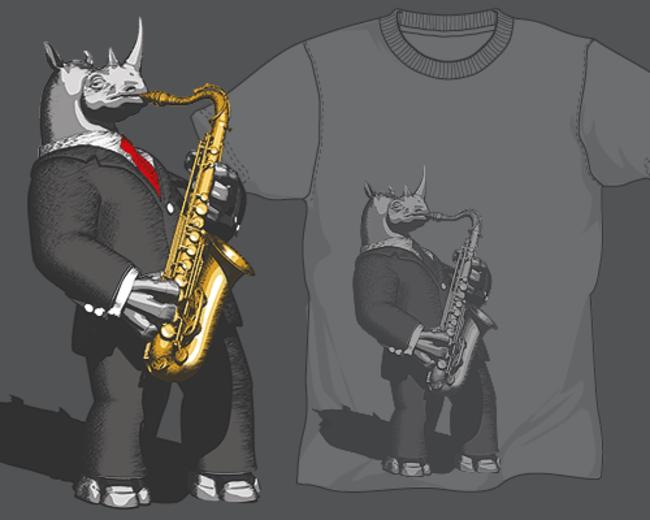 Mr. Rhino plays the Jazz
