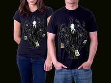 Slenderman T-Shirt Design by