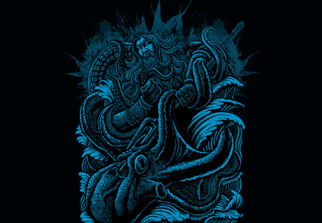 poseidon vs giant octopus