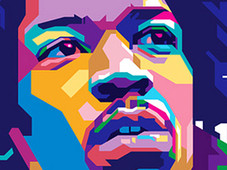 HENDRIX T-Shirt Design by
