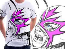 Lucha Lucha T-Shirt Design by