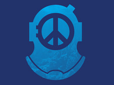 Peace Diver T-Shirt Design by