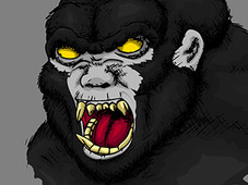 Angry Ape T-Shirt Design by
