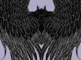 Dark Angel Wings by mrjoelvfx