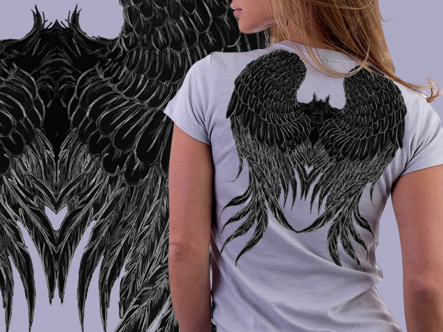 Dark Angel Wings