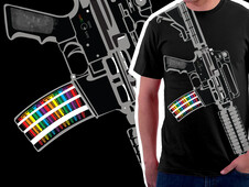 Carbine Confusion T-Shirt Design by