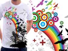 Bring Me Colors T-Shirt Design by