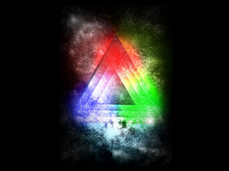 Rainbow Triangle by kashiori