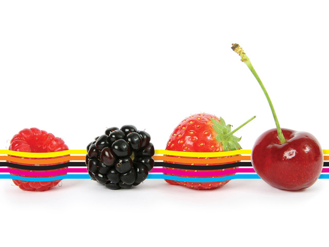 Color Fruits