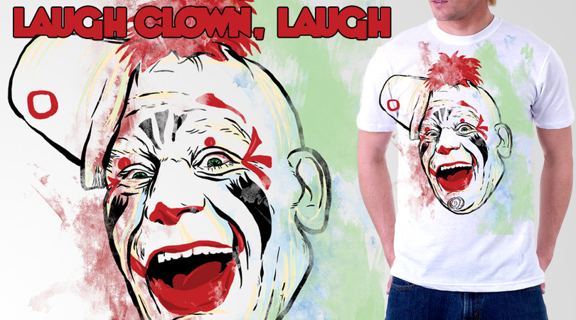 laugh clown, laugh