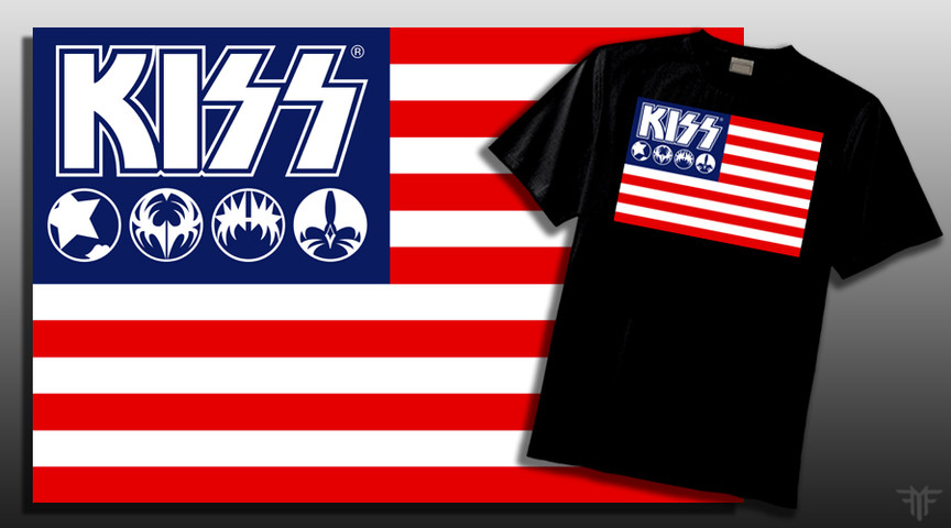 KISSNATION FLAG