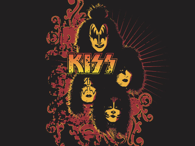 kiss fire design