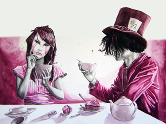Lucid Tea Party by RedRobotMonkey