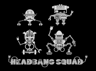 HeadBang Squad by DarkChocolat