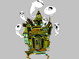 boo house by saprophilous