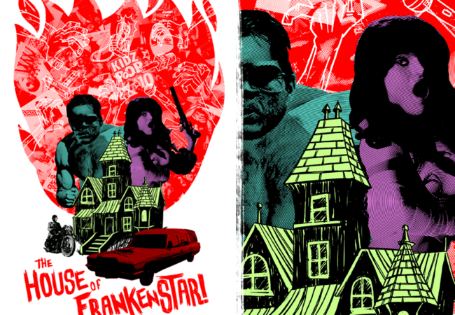 the house of frankenstar