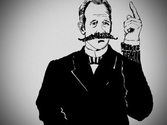 The Mustasch Makes The Man by PLAiNPAiN