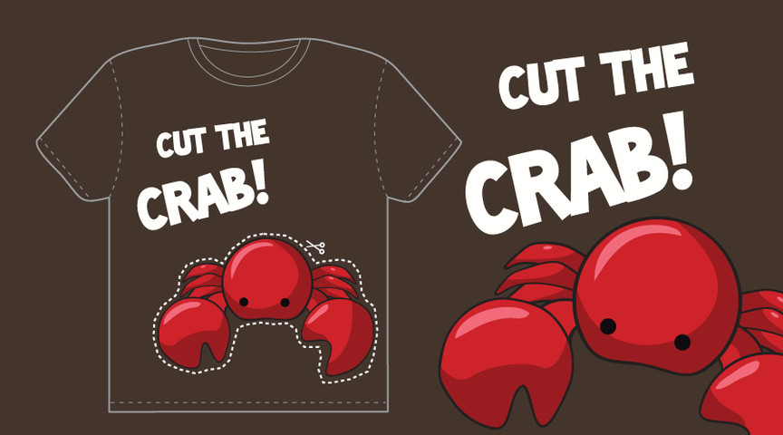 Cut the crab!