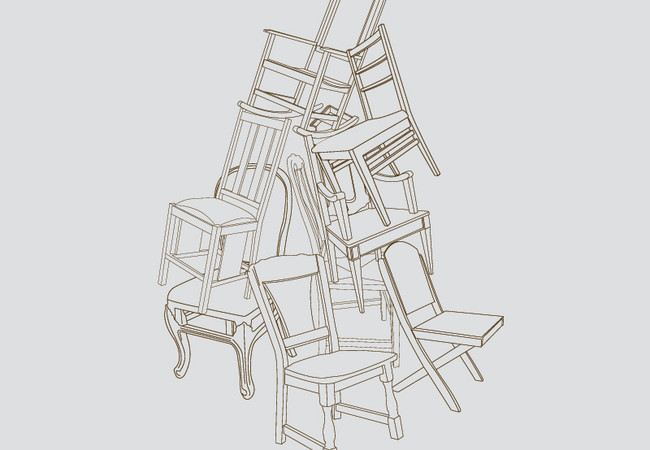 Just A Pile Of Chairs