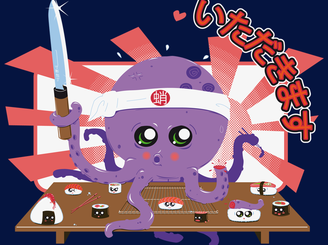 OctoSushi by DarkChocolat