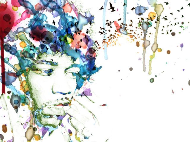 Hendrix Watercolour Haze