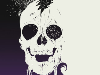 Cosmic skull by phantoche