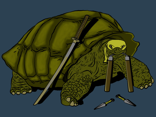 Boticelli: The sad history of non-mutant turtle.