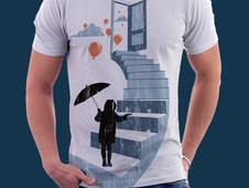 DROP OF RAIN T-Shirt Design by