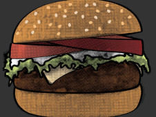 Burgin' T-Shirt Design by