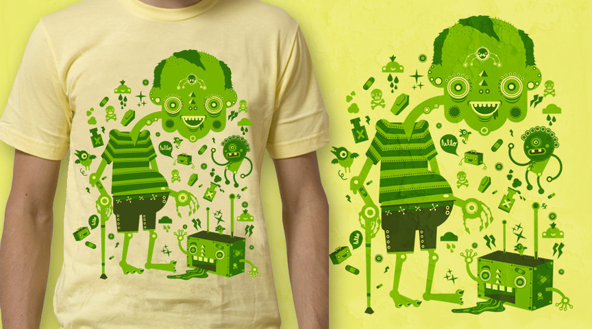 Go green with Mr. Green!