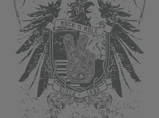 STP - Rock N' Roll Crest by DCAY