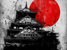 The Red Moon T-Shirt Design by