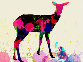 Painted Deer by sharpnose