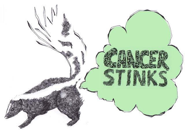 CANCER STINKS