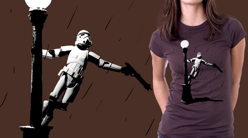 Stormtrooper in the Rain