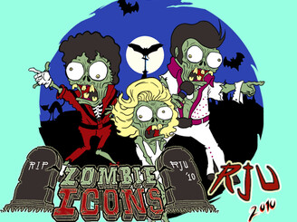 Zombie Icons by einharjar20
