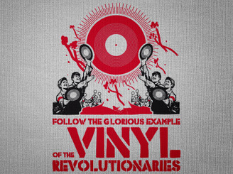 Vinyl Revolution by menosketiago