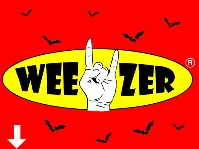 tribute to my fave's band weezer