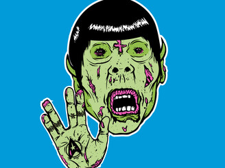 Star Trek zombie Spock by DerickJames