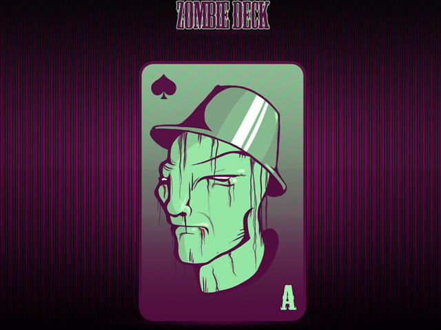The Zombie Deck - Ace of Spades