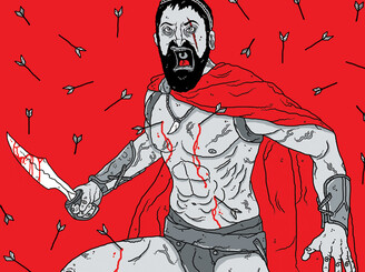 300 King Leonidas by DerickJames