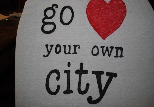 Go love your own city