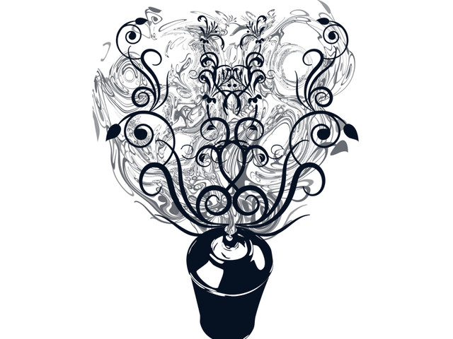 Art Nouveau Spray