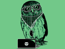 Smart Owl T-Shirt Design by