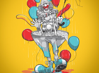 Clowns Hates Rain by Draco