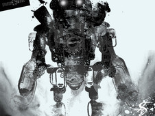 Faded_Robot T-Shirt Design by