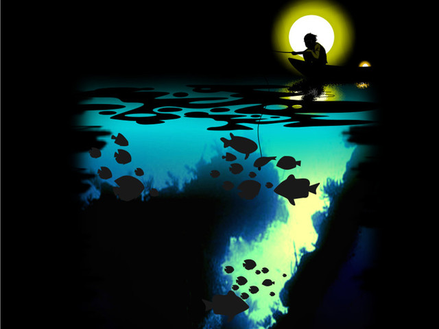 Fishing in the Moonlight